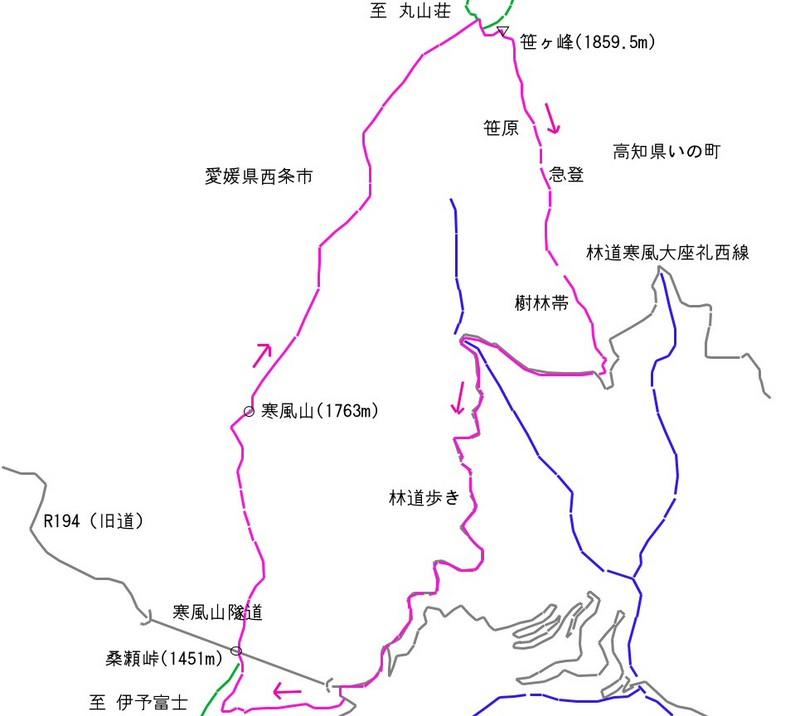 20130912kanpuzan-sasagamine-route.jpg